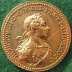 George III gold coronation medal by Natter