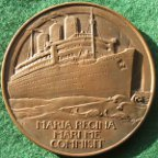 RMS Queen Mary medal 1936