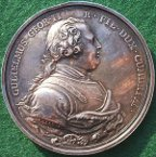 Battle of Culloden Jacobite medal 1746