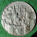 Oxford, Millenary 1912, white metal medal