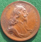 Charles I memorial medal by Roettier