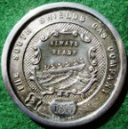South Shields, South Shields Gas Company, Exhibition 1877, silver prize medal