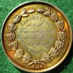 Netherlands, Middelburg, Exhibition of Cookers, silver-gilt prize medal 1884