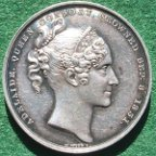 Adelaide coronation medal by Wyon 1831