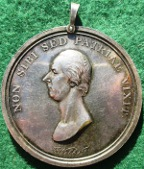 Leicester Pitt Club (1814), silver medal