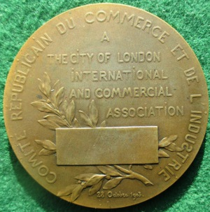 City of London Coudray medal 1903