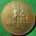 France, Pétain medal 1941, Turin