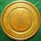 Architecture, Royal Institute of British Architects (RIBA), Rome Scholarship Medal circa 1930, bronze