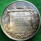 The Church Missionary Society, Golden Jubilee 1848, silvered white metal medal