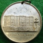 Stoneleigh & Ashow Friendly Society Instituted 1845, white metal medal