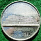 The Great Exhibition, Crystal Palace 1851, white metal medal by T Ottley