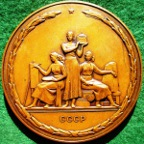 Russia/ Soviet Union, St Petersburg (Leningrad), Academy of Arts Bicentenary 1957, large bronze medal