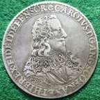 Charles I, Dominion of the Sea 1630, silver medal by Nicholas Briot