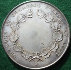 France, prize medal, silvered-bronze, circa 1910, by Charles Pillet