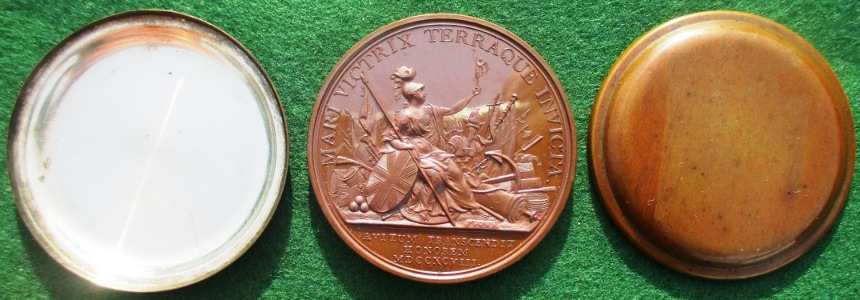 Victories of 1798, Wyon medal