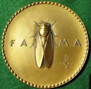 "USA, Society of Medallists, 'Fame & Glory"" 1933 by Jennewein"