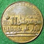 Hungary, Bohemia, Prague Recaptured 1744, medal