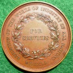 Crystal Palace Exhibition For Services Medal 1851