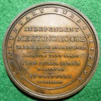 Birmingham Independent Meeting House medal 1819