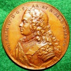 Netherlands, William IV Stadtholder 1747, medal
