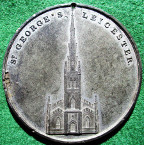 Leicester, St George's Church medal 1823