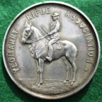 Yeomanry Rifle medal 1911, shooting prize, silver