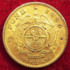 South Africa, ZAR, gold Half-Pond 1895