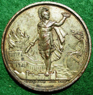 Battle of San Sebastian medal 1813
