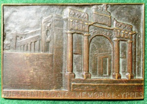 Great War, Menin Gate Memorial Medal