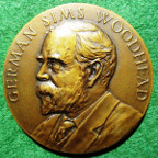 Medicine (Pathology), German Sims Woodhead medal dated 1949, bronze by JR Pinches