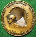 Peru, Andes Water Tunnel 1962, medal