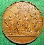 Victoria visit to City of London medal 1837