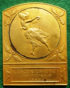 France, World's Dancing Championships 1922 medal