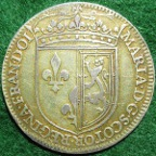 Mary Queen of Scots medal 1579