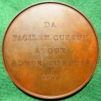 Victorialarge  bronze coronation medal 1838 by Pistrucci