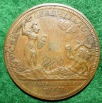 Anne Coronation bronze medal 1702