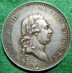 George III Recovery from Illness, medal 1789