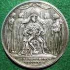 George IV silver Coronation medal 1821