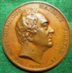 William IV & Queen Adelaide, Accession medal 1830