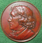 Theatre, Henry Irving 1891, bronze laudatory medal