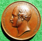 London, The Great Exhibition 1851, Crystal Palace, Exhibitor's Medal, bronze, by W Wyon