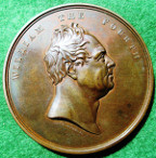 London Bridge Opened 1st August 1831, bronze medal by B Wyon