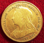 Victoria, gold Half-Sovereign 1897