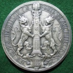 Royal Institute of British Architects (RIBA), silver award medal by G Frampton 1887