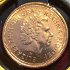 Elizabeth II, gold Half-Sovereign 2000