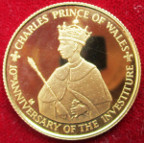 Jamaica, Elizabeth II, gold proof 100-Dollars 1979
