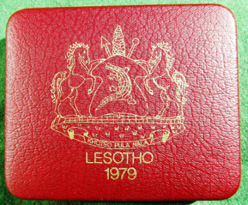 Lesotho, gold 250-Maloti 1979 for Year of the Child, 22ct, 33.93g, 1oz