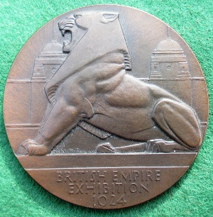 London British Empire Exhibition medal 1924