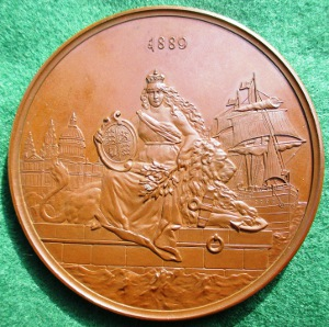 Victoria 70th Birthday, bronze Lauer medal BHM 3365