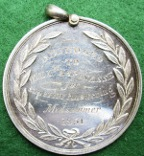 Ireland, Kingstown (Dunlaoghaire) Stacpoole Espinasse prize medal 1851